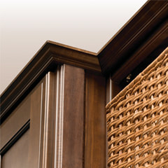 Add Crown Molding For An Upscale Furniture Style Appearance.